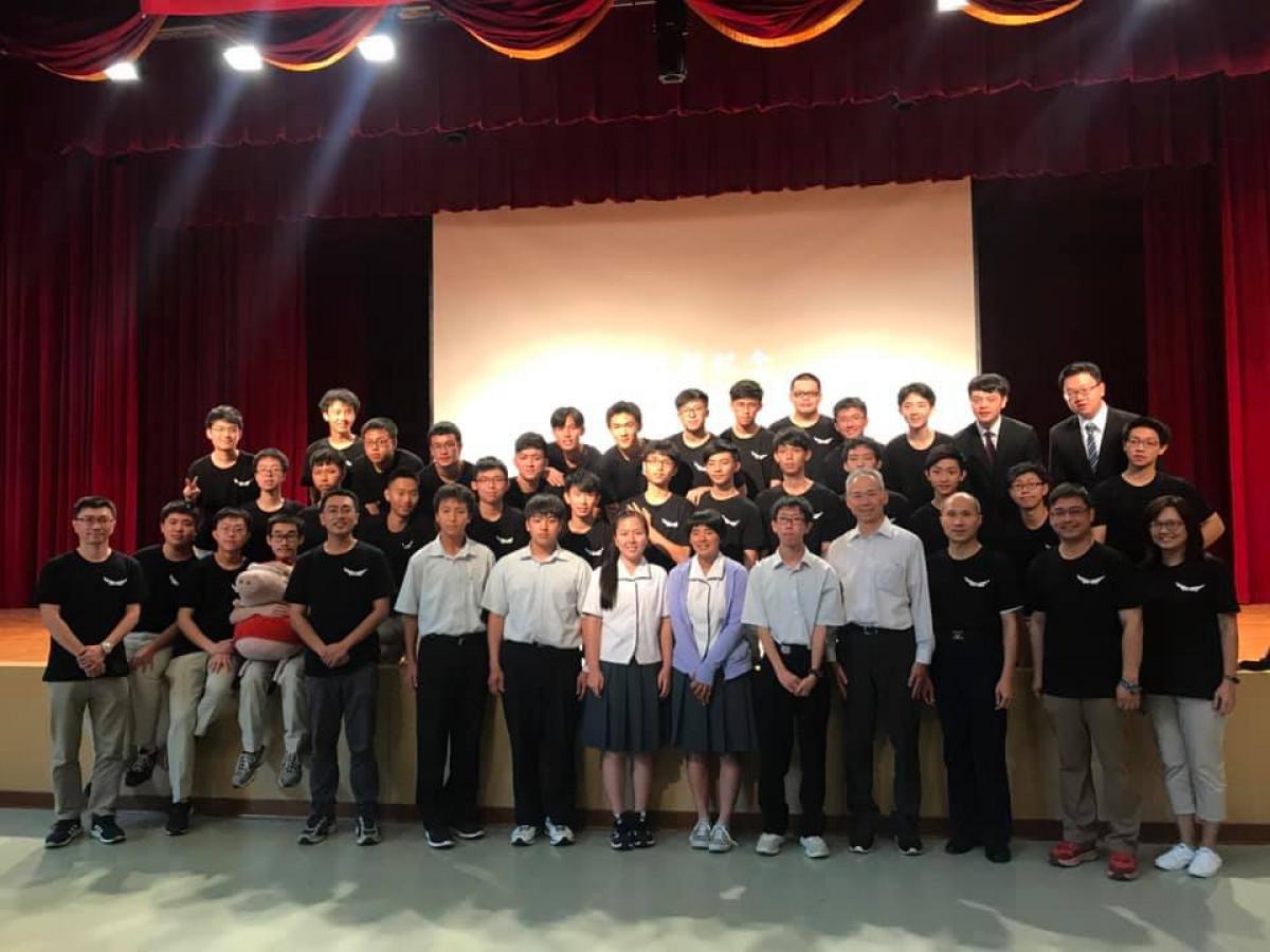 107.05.13日本愛媛縣立松山南高校組隊參加本校科學班專題成發