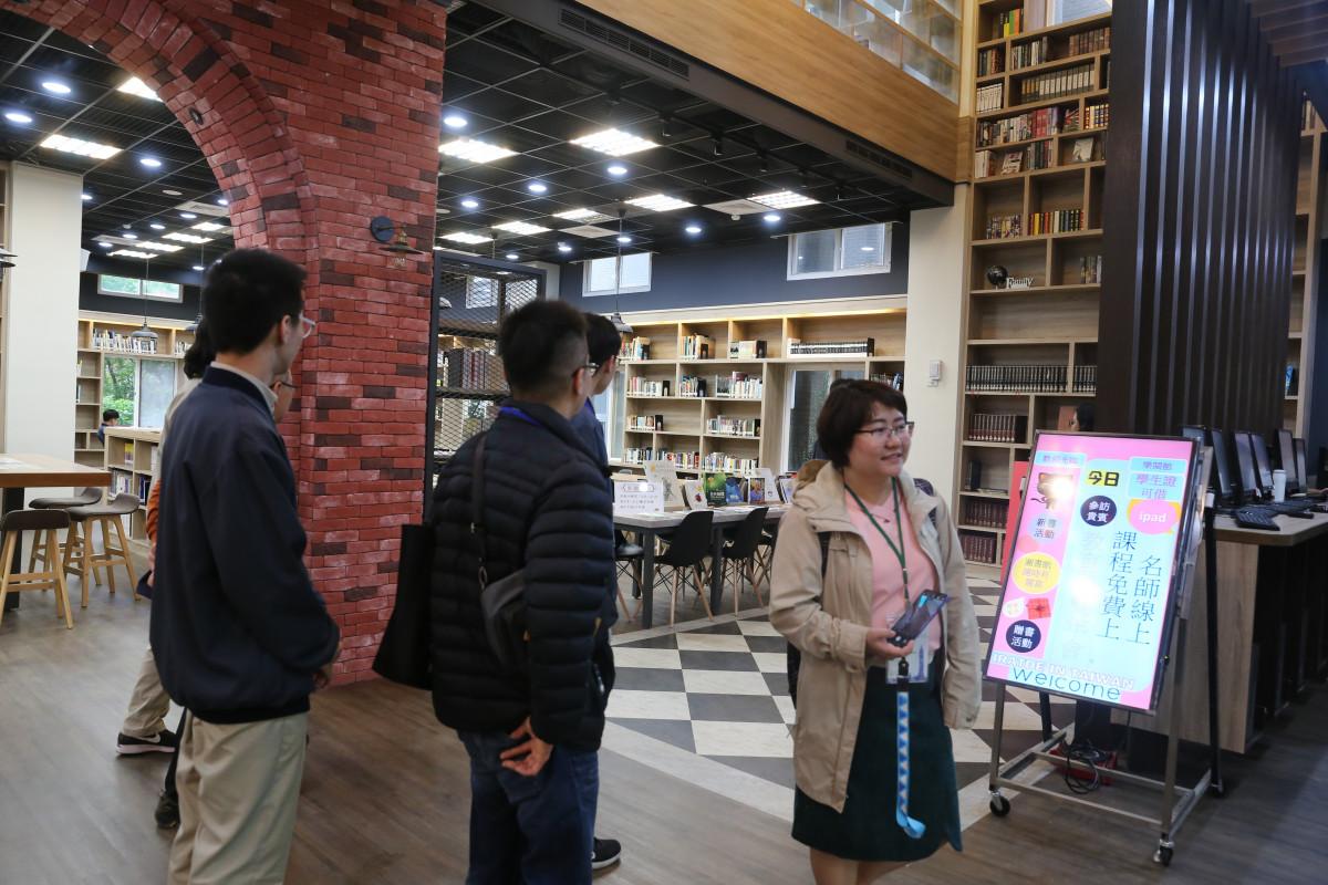 國際參訪 library visitors