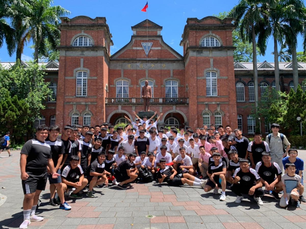 108.07.31日本名古屋高校橄欖球隊蒞校交流