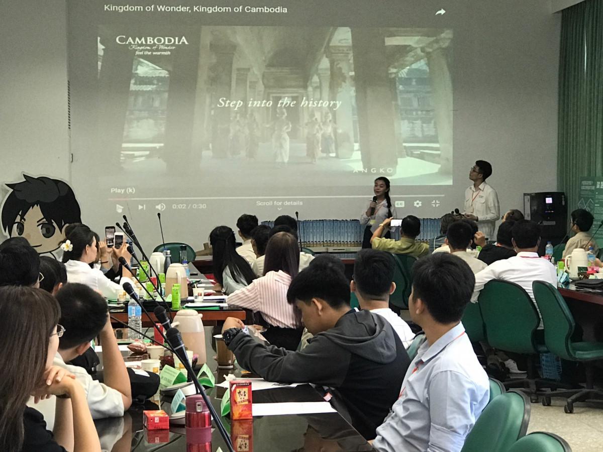 柬埔寨同學介紹柬埔寨